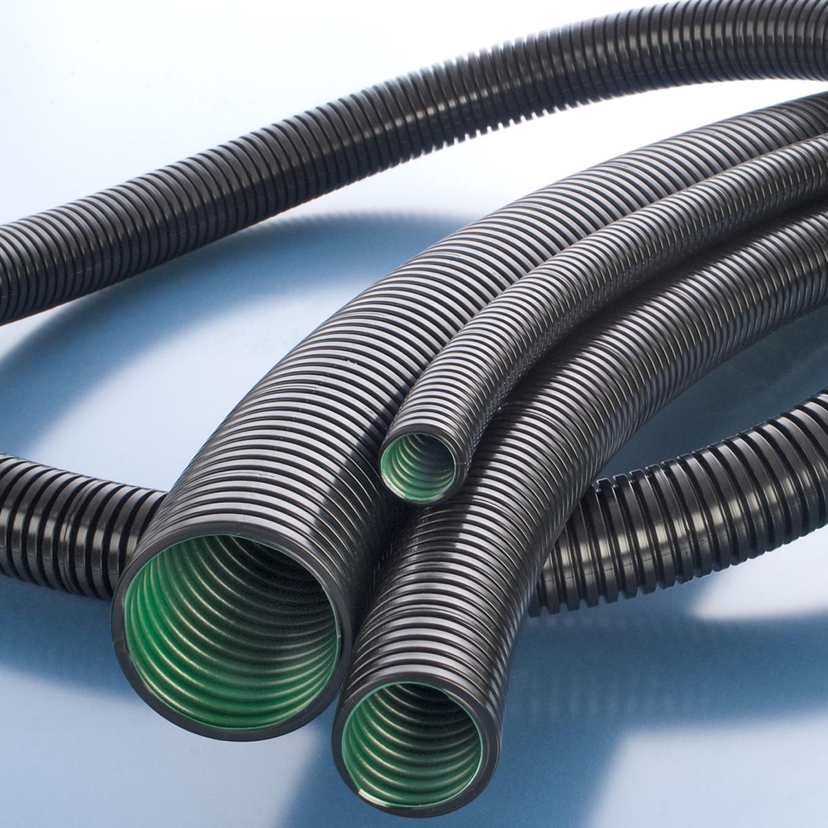 Split Loom Wire Conduit Rigid Tubing Outdoor Cable Protector Sleeving 3 Meter